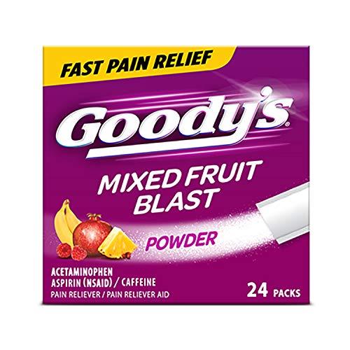 Goody's Extra Strength Headache Powders, Mixed Fruit Blast, 24 Count