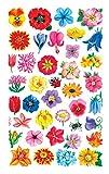 AVERY Zweckform Papier Sticker kleine Blüten 114 Aufkleber (Dekosticker, Blumen, selbstklebend, Karten, Scrapbooking, Fotoalbum und Tagebuch, Bullet Journal Zubehör, Dekorieren, Basteln) 54304