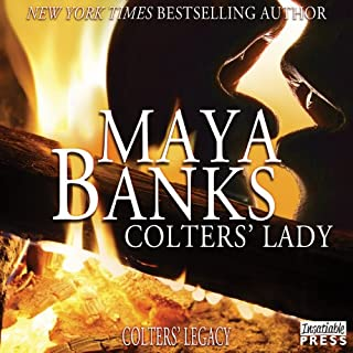 Colters' Lady audiobook cover art
