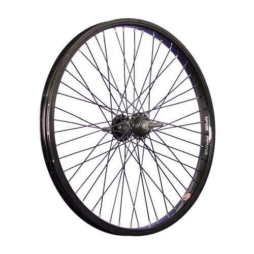 Taylor-Wheels 20 Pulgadas BMX Rueda Trasera llanta Pared Simple Negro 48