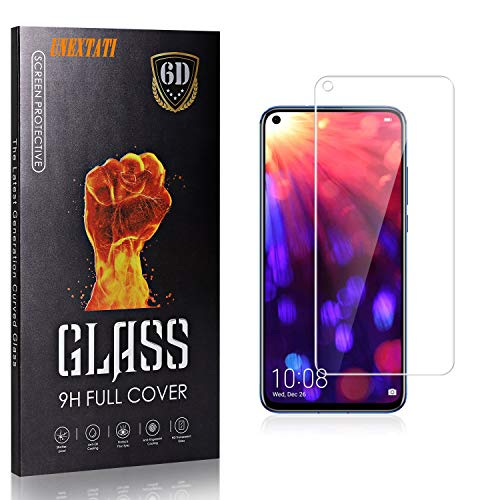3 Pack Screen Protector for Honor V20, UNEXTATI Ultra Thin Tempered Glass Screen Protector for Huawei Honor V20, 9H Hardnes, Case Friendly