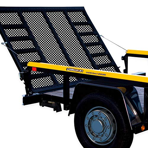 Official GORILLA-LIFT, 2-Sided Tailgate Utility Trailer Gate & Ramp Lift Assist System