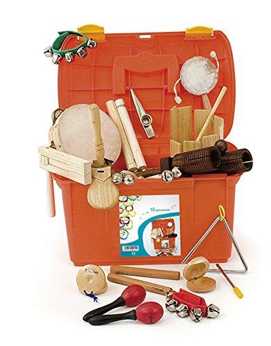Fuzeau 9242 koffer met 16 instrumenten, oranje