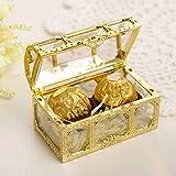 EqWong 12Stück Schachtel Geschenkbox, Plastik hochzeits Süßigkeit Kästen Gastgeschenke Gastgeschenk Kartonage Kasten für Hochzeit Geburtstag Baby DIY Shower Feier Dekoration