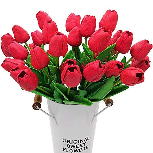 Grunyia - Tulipani artificiali, 20 pezzi Sandali Adventure Seeker, punta chiusa - T - Bambini