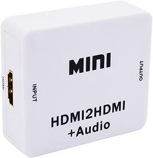 Homyl MINI Audio Converter para HDMI2HDMI Audio Video Adapter para HDTV