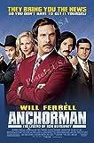 PremiumPrints - Anchorman Movie Poster - XMOV426 Premium Canvas 11' x 17' (28 cm x 43 cm)