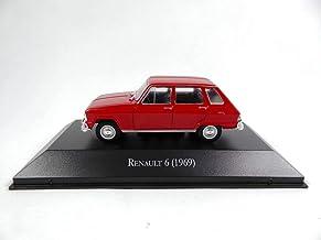 OPO 10 - Coche colección Salvat 1/43: Renault 6 1969 R6 (AR27)