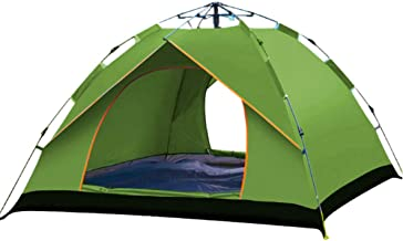Outdoor Tent Camping Waterproof Tent for 1-2 Persons Camouflage Camping Hiking Easy Setup Instant Pop up Tent