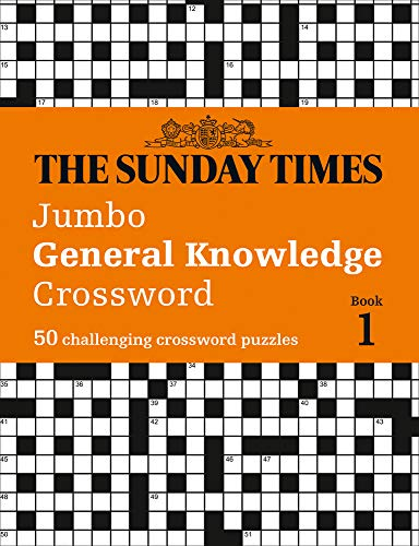 The Sunday Times Jumbo General Knowledge Crossword: 50 General Knowledge Crosswords (Times Mind Games)