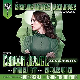 The Crown Jewel Mystery audiobook cover art