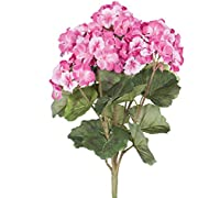 Vickerman FQ173102 Floral Geranium Bush