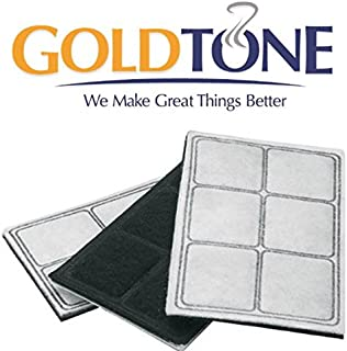 GoldTone 6-Chamber Replacement Pet Water Filters for Drinkwell Pet Fountains