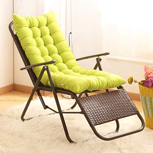 JGFJLO Outdoor Rocking Chair Cushion,Not-Slip High Back Chair Cushions,Garden Sun Lounger Cushions with Ties,Thicken Patio Chair Lounger Cushion,Bench Cushion