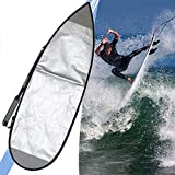 SCXLF Lightweight Surfboard Travel Bag, SUP Cover, Bodyboards Carrying Bags for Outdoor 5'6'', 5'8'',5'6''