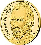 Power Coin Vincent Van Gogh Moneda Oro 25$ Niue 2020