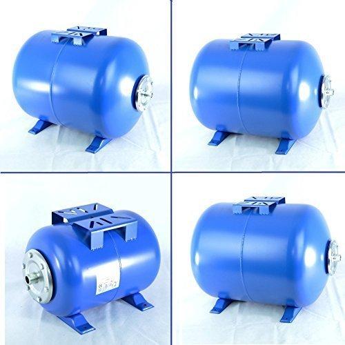 IBO drukketel in vier verschillende maten 24,50,80 en 100 liter membraan ketel met 1 inch aansluiting en EPDM-membraan. 80