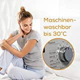 Beurer UB 90 Komfort Wärme-Unterbett, anschmiegsame Wärmebettunterlage, zwei separat einstellbare Temperaturzonen - 4