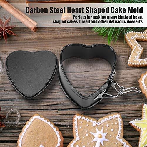 Moule de cuisson de moule de gâteau en forme de coeur antiadhésif pour la maison pour le gâteau au miel
