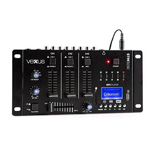 DJ-Mischpult mit 4Kanälen für Anfänger.Mit USB.