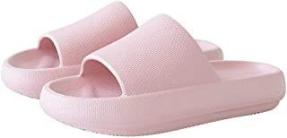 Buhui - Pantofole super morbide per la casa, antiscivolo, suola spessa per il bagno, la doccia, le donne e gli uomini