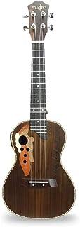 """23"""" Concert Ukulele Guitar 12 Fret Rosewood 4 String EQ UK23BCEQ"""