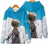 Sudaderas con Capucha Juego Hot Genshin Impact 3D New Print Fashion Cosplay Hoodie Sudadera Sudaderas Jersey Unisex Harajuku Traje - Unisex (Color : WW, Size : Medium)