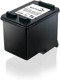 Cartucho Jato Compatível C/Hp Mod. 000074 Preto Multilaser - CO74X