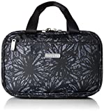 Baggallini Womens Hanging Travel Kit, Onyx Floral