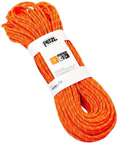 PETZL Corde Push 9 Mm 70 M Orange Adulte Unisexe, One Size