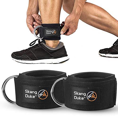 iBaste 2 correas para el tobillo, correas para el tobillo, para mujeres y hombres, dispositivo de entrenamiento de fuerza para resistencia elástica