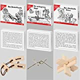 8 beliebte Knobelspiele aus Holz und Metall - 5