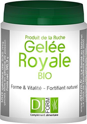Gelee Royale Bio lyophilisiert - 180 Kapseln- Hergestellt in Frankreich