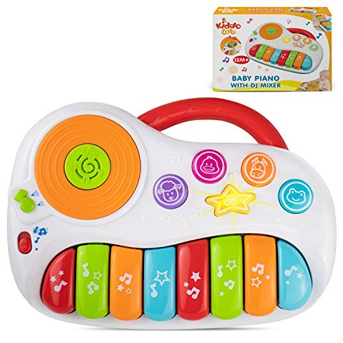 Toddler Piano Baby Piano with DJ Mixer Baby Musical Instruments for Educational Development Electronic Play Piano Kids Keyboard Piano 1  5 Years Age