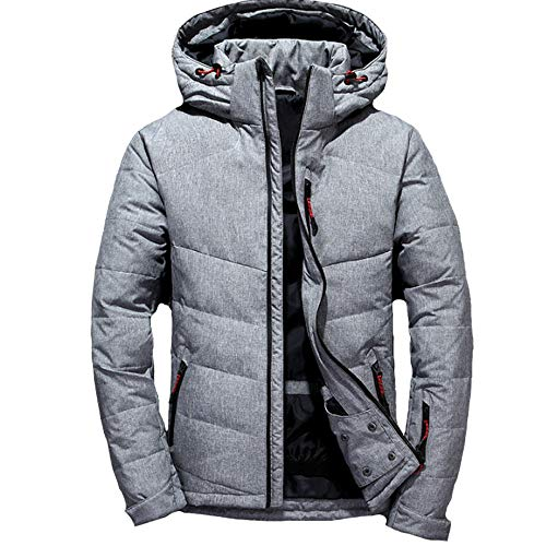 Men Down Jacket,Waterproof Winter Casual Coats,Ski Jacket Padded Coat, Breathable Outerwear, Outdoor Sport Coat,XXXL