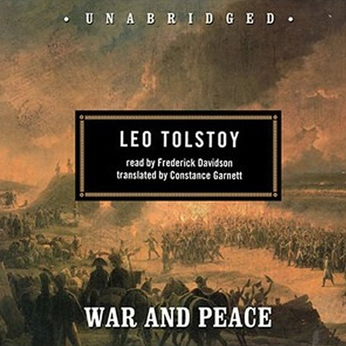 War and Peace  Audiolibri