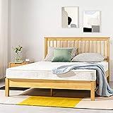 Best Price Mattress 6 Inch Tight Top Innerspring Mattress - Comfort Foam Top with Bonnell Spring Base, CertiPUR-US Certified Foam, Twin
