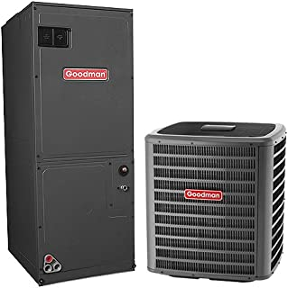 Goodman 3 Ton 14 Seer Heat Pump System with Multi Position Air Handler