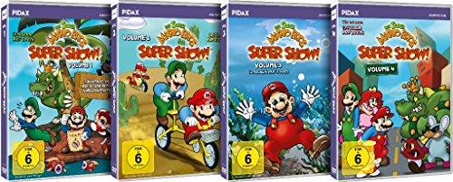 Die Super Mario Bros. Super Show! - Gesamtedition / Die komplette 52-teilige Serie mit dem berühmten Videospiel-Duo + Bonusepisoden (Pidax Animation)[8 DVDs]