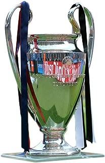 Trophy Champions League Trophy Golden Champion Trophy Marble Base British Premier Liverpool Souvenir Best Gift (Color : Silver, Size : 322318cm)