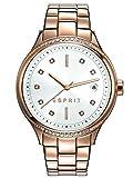 Esprit Rachel - Reloj de Cuarzo para Mujer, Color Oro Rosa