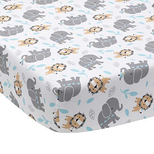 Bedtime Originals Jungle Fun Fitted Crib Sheet
