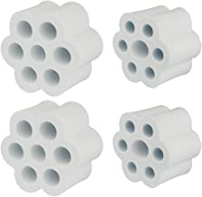 "Cup Turner Foam - 4 Pieces Cup Turner Accessories fit 20 30 oz Tumbler for 1/2 "" PVC Pipe High Density Foam The Partner for Cup Spinner Machine (2 for 30 oz Tumbler and 2 for 20 oz Tumbler)"