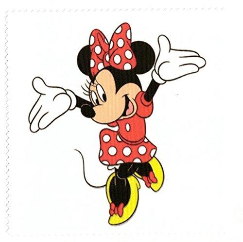 Microfasertuch zum Brille reinigen - Motiv Minnie Mouse - Brillenputztuch NEU