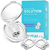 Oheal Snore Stopper Silicone Nose Device, Magnetic Nose Clip, Snoring Solution, Professional & Comfortable Anti-Snoring Devices for Women and Men