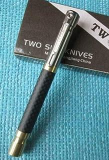 New Twosun Carbon Fiber Copper Titanium Tactical Office Pocket Pen TS-PEN06