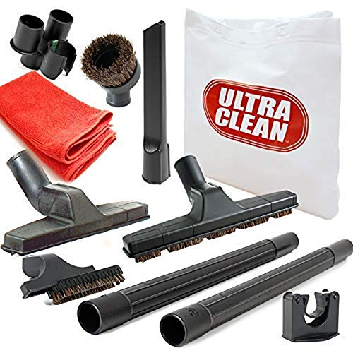 ULTRA CLEAN AM2015002 10-teiliges Deluxe Zentralstaubsauger-Zubehör/Aufsatz-Set, geeignet für alle Marken wie Beam, Electrolux, Eureka, Kenmore, Nutone, Husky, Allegro, 10 Zoll