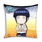 CoolChange Naruto Deko Kissenbezug 50x50cm, Motiv: Hinata Hyuuga