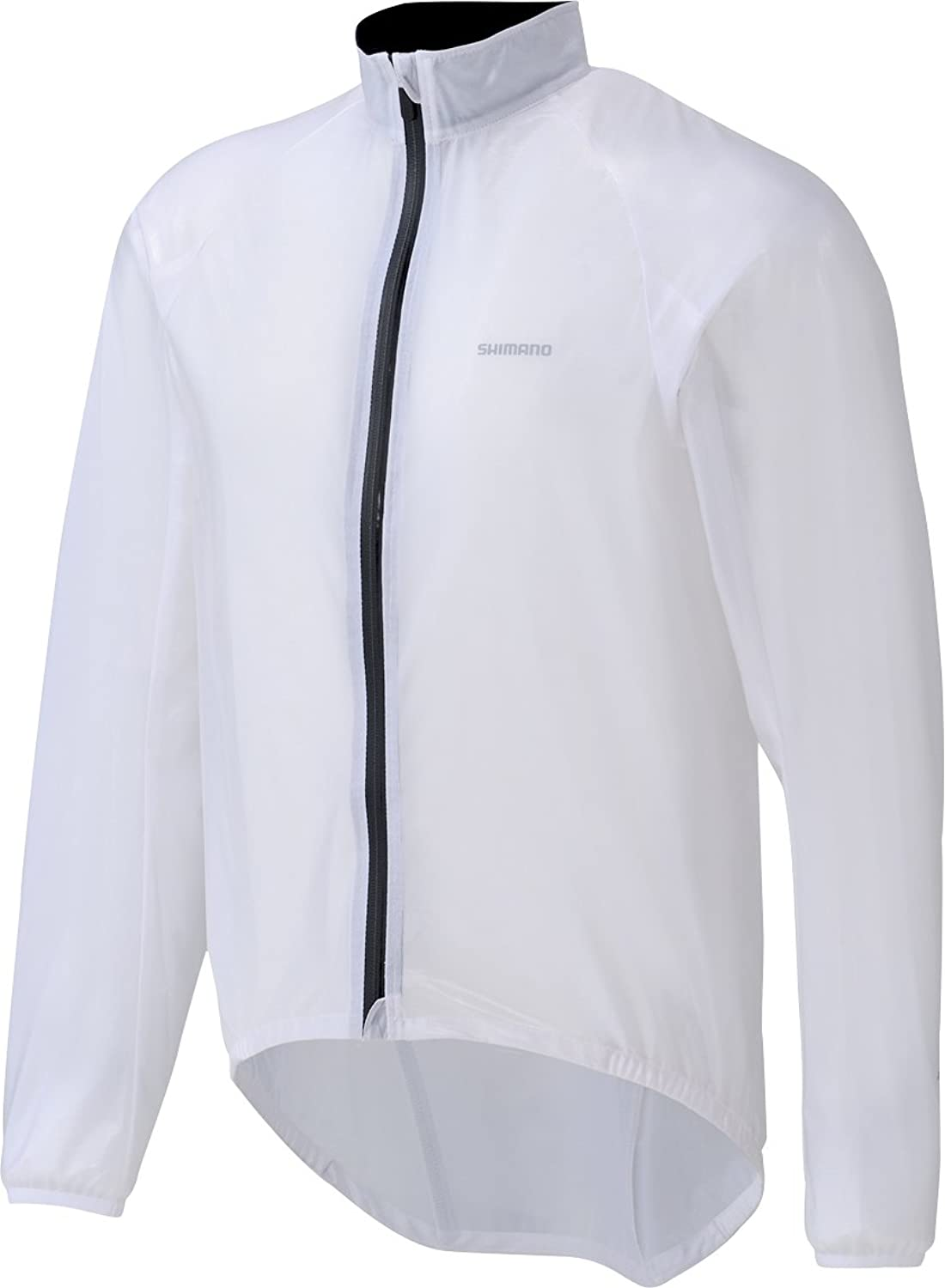SHIMANO Performance Mens Transparent Rain Jacket