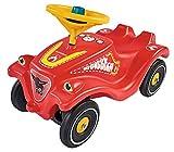 BIG Spielwarenfabrik- Big Bobby Car-Classic-Veicolo Adesivi a Forma di Vigili del Fuoco, Portata Fino a 50 kg, per Bambini a Partire da 1 Anno, 800056128